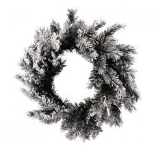 Flocked Wreath - SPECIAL BUY! Original Price $20.00