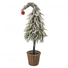 Lg Curly Christmas Tree w/LED Light - SPECIAL BUY! Original