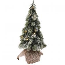 Flocked Tree w/LED Light - SPECIAL BUY! Original price $26.5