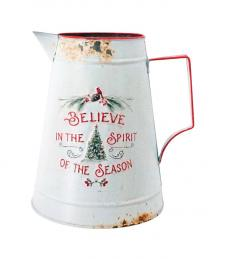 Metal BELIEVE IN THE SEASON Pitcher