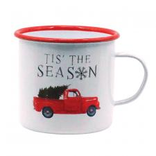 Metal TIS THE SEASON Mug
