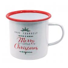 Metal MERRY CHRISTMAS Mug