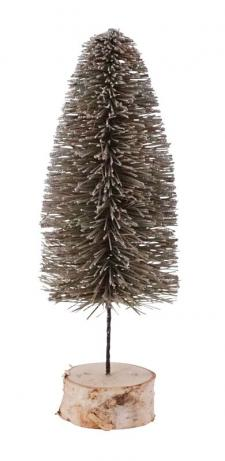 Lg Green Bottle Brush Tree