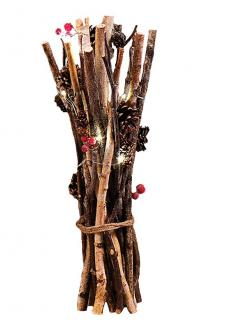 Natural Twig Bundle w/LED Light