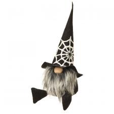 Large Spider Web Halloween Gnome